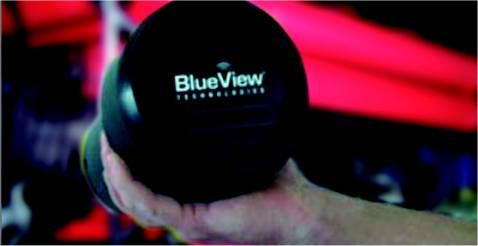 sonar blue view